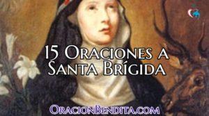 Las 15 Oraciones a Santa Brigida Por 1 Año