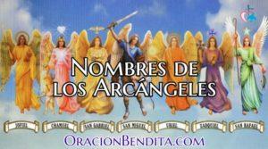 Nombre de los Arcágenes: Significado, Oración y Más