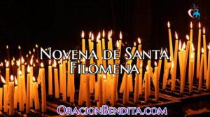 Novena de Santa Filomena