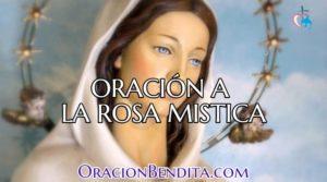 Oración A Rosa Mística: Amor, Salud, Milagro Y Más