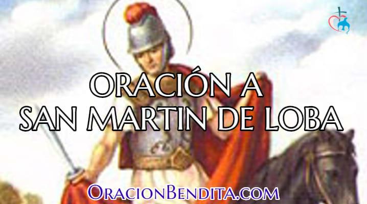 Oración a San martin de loba