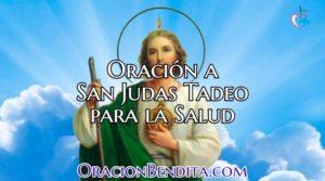 Oración a San Judas Tadeo Para Mejorar La Salud