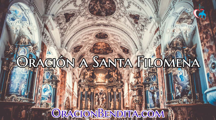Oraciones a Santa Filomena