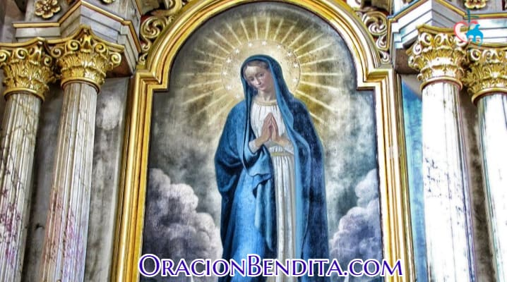 Oración a la Inmaculada Concepción corta