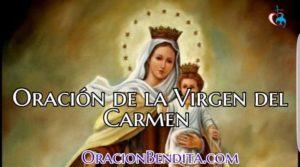 Oraciones Milagrosas de la Virgen del Carmen
