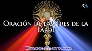 Oración de las Tres de la Tarde de La Divina Misericordia