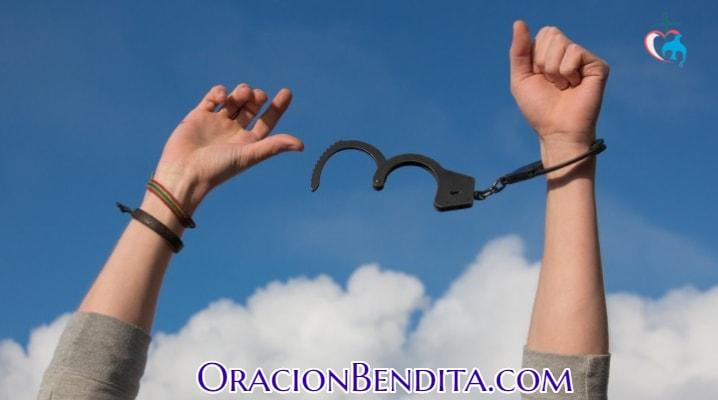 Oración de liberación corta