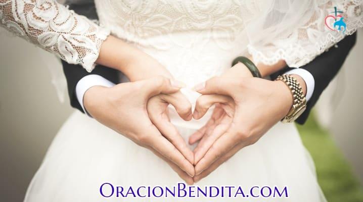 Oración de matrimonio cortas