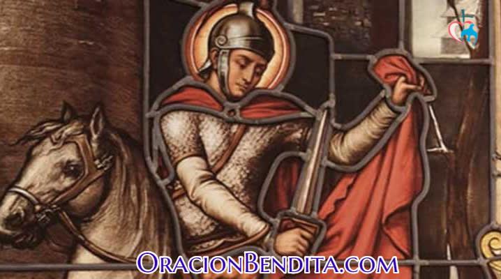 San Martín Caballero patrón del trabajo