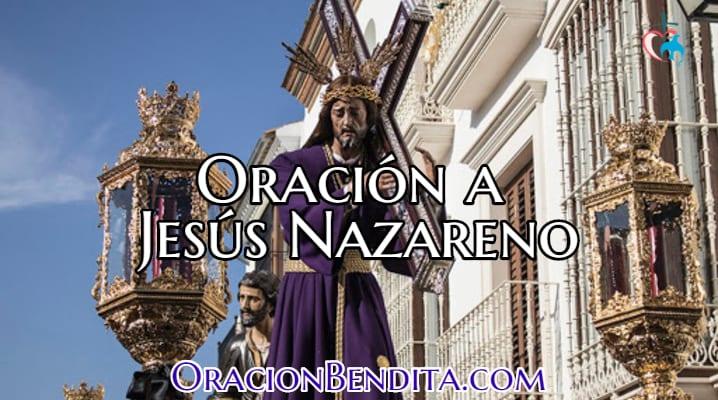 Oración a Jesús Nazareno
