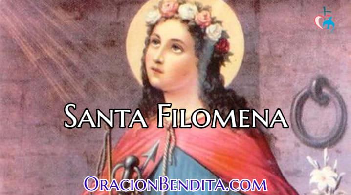 Historia y Biografía de Santa Filomena