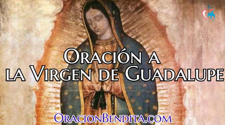 Oración a la virgen de guadalupe para niños
