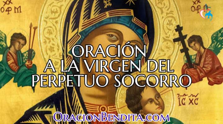Oración a la virgen del perpetuo socorro por el matrimonio