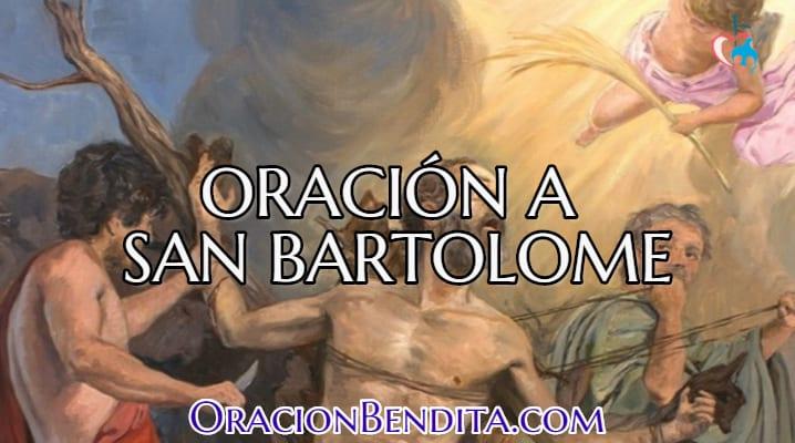 Oración al apóstol San Bartolomé