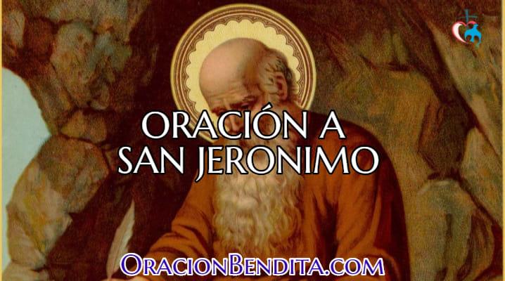 Plegarias a San Jeronimo