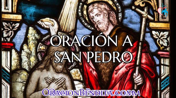 Oración a San Pedro