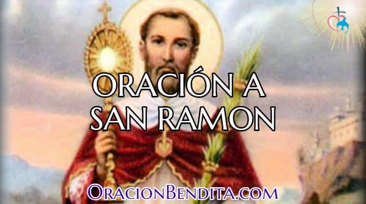 Oración a San Ramón