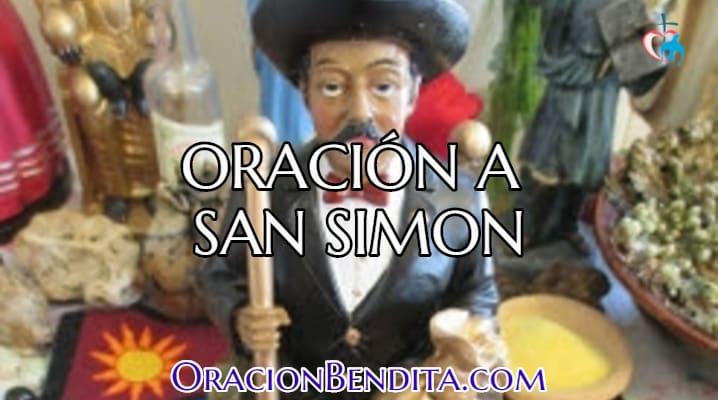 Oración a San Simon