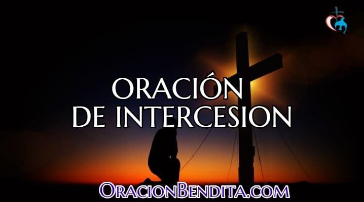 Oración a la intercesión de Dios