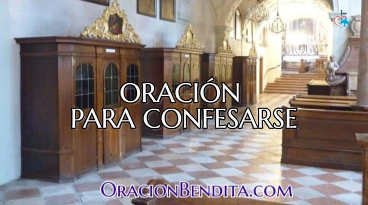 Oración para confesarse