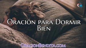 Oración Poderosa Para Dormir Bien Toda La Noche