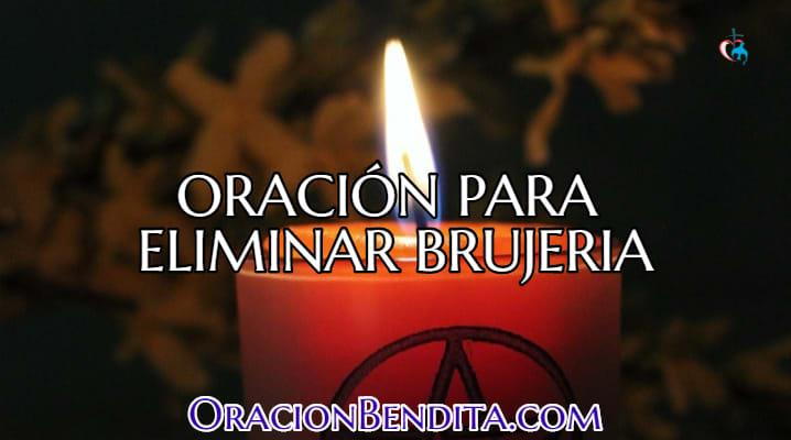 Oración para eliminar brujería