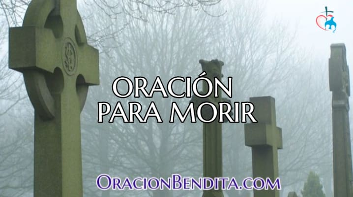 oración para morir