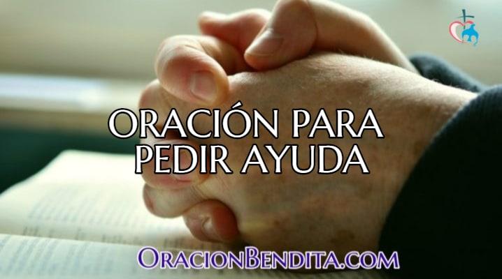 oración para pedir ayuda