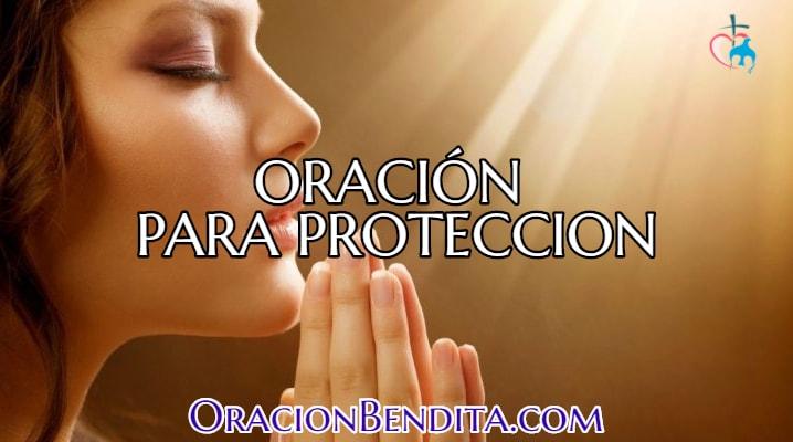 Oración contra todo mal y peligro