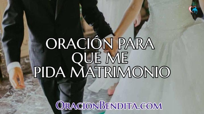Peticiones para casarse