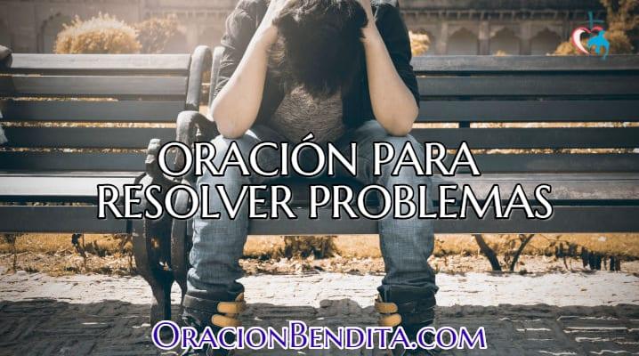Oración para resolver problemas laborales