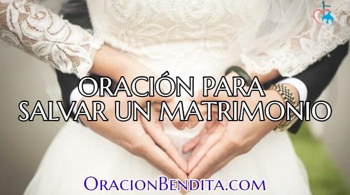 Oración para matrimonio en problemas