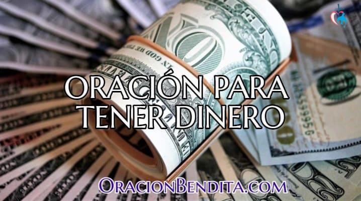 Oración del ángel del dinero