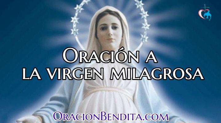 Oración a la Virgen Milagrosa para pedir un Milagro