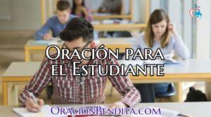 Oración del Estudiantes para: Antes y Aprobar un Examen